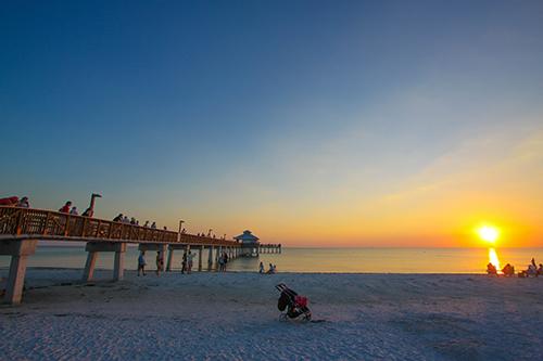 FMB Pier on Beach